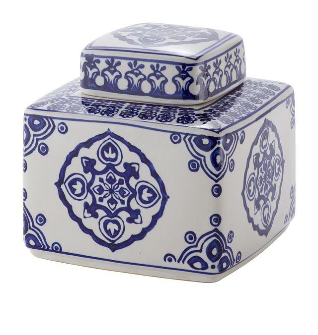 Dirk Dark Blue Small Jar (1)