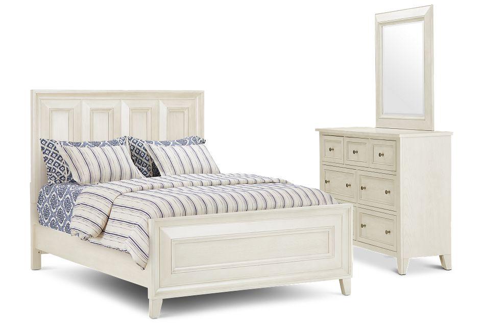 Dawson Ivory Panel Bedroom