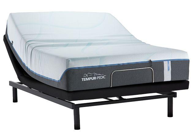Tempur-luxe Adapt Plush Ease Adjustable Mattress Set