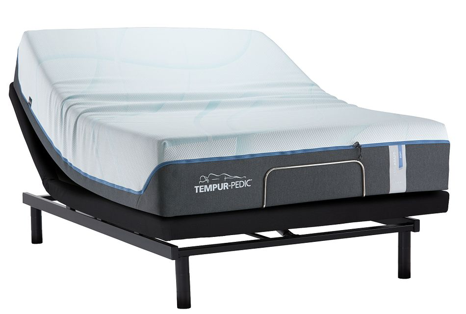 Tempur-luxe Adapt Plush Ease Adjustable Mattress Set