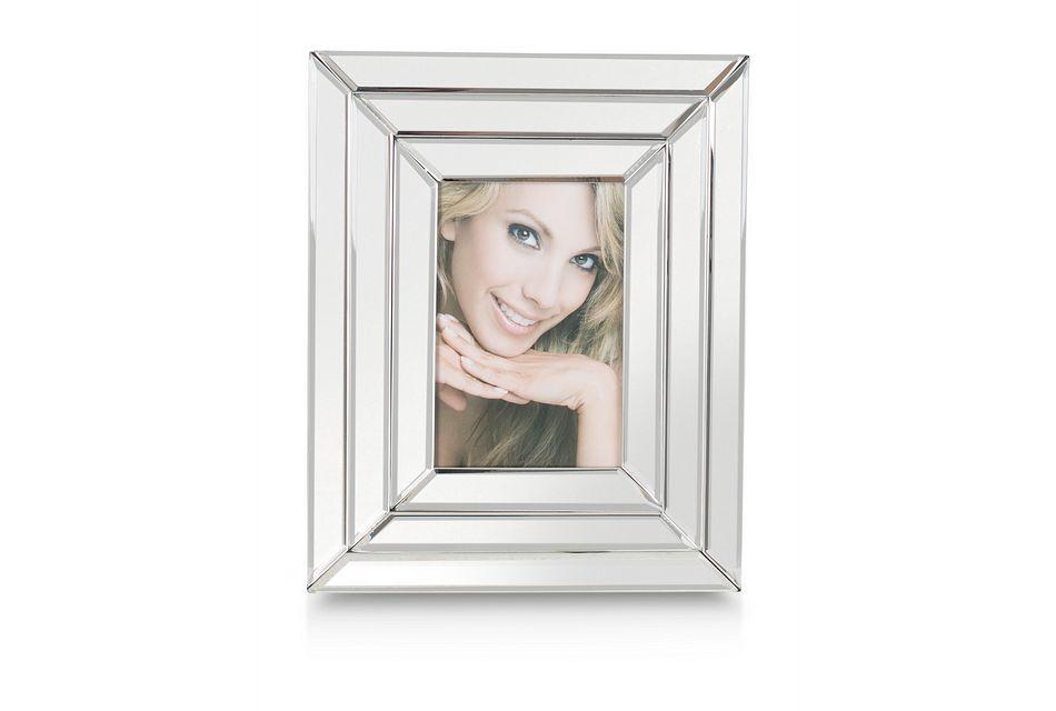 Brielle Silver Small Picture Frame