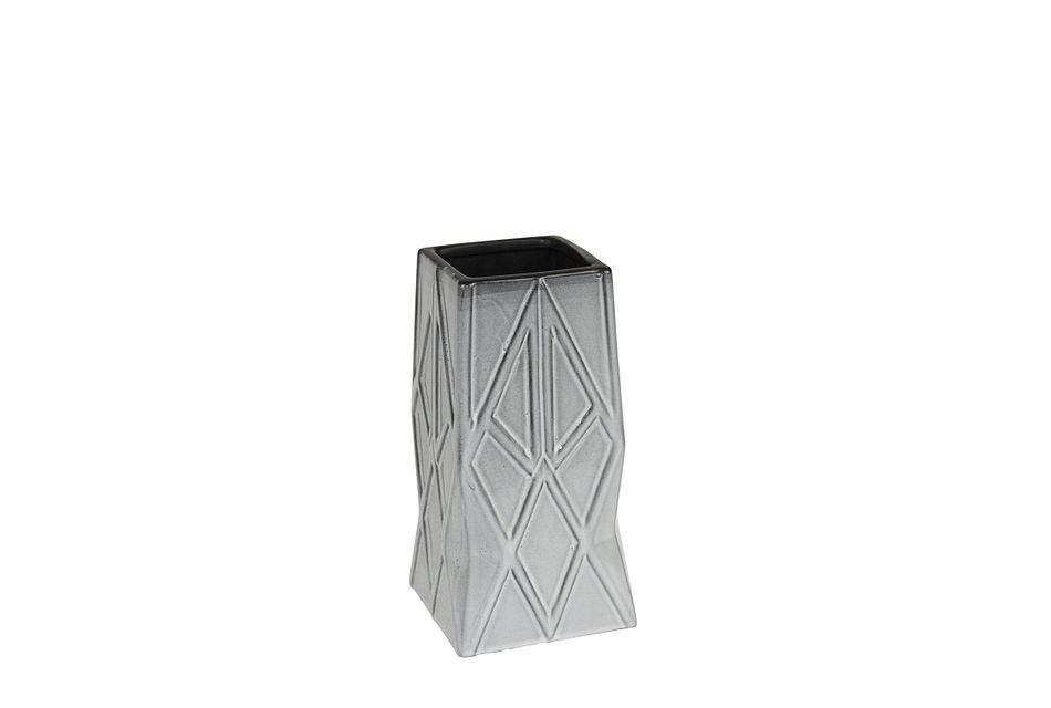 Arrowhead Gray Medium Vase