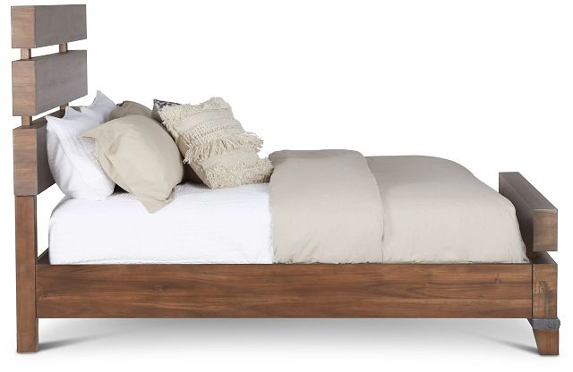 Forge Dark Tone Panel Bed (3)