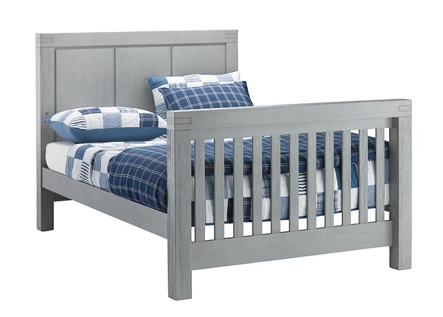 Piermont Gray Panel Bed (2)