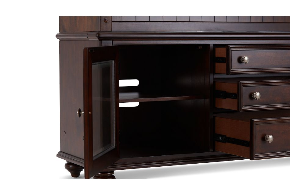 Savannah Dark Tone Entertainment Unit