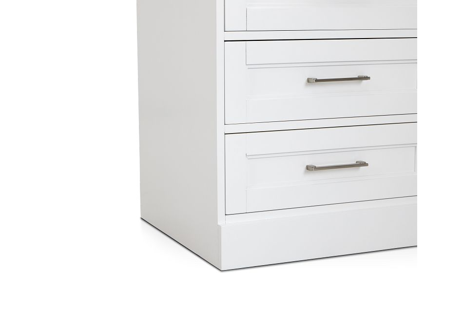 Newport White Drawer Cabinet