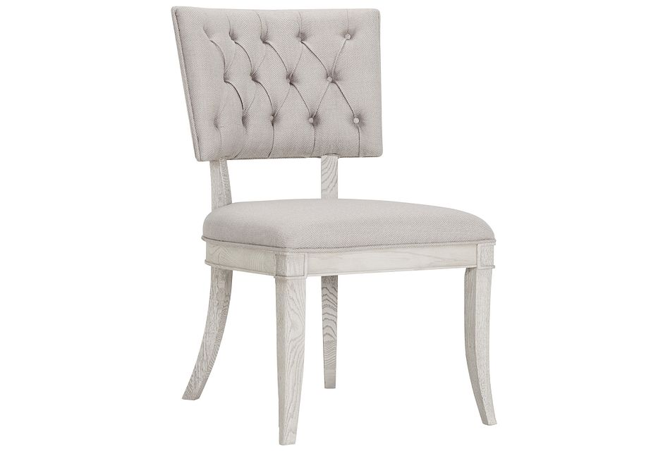 Domaine Light Taupe Upholstered Side Chair