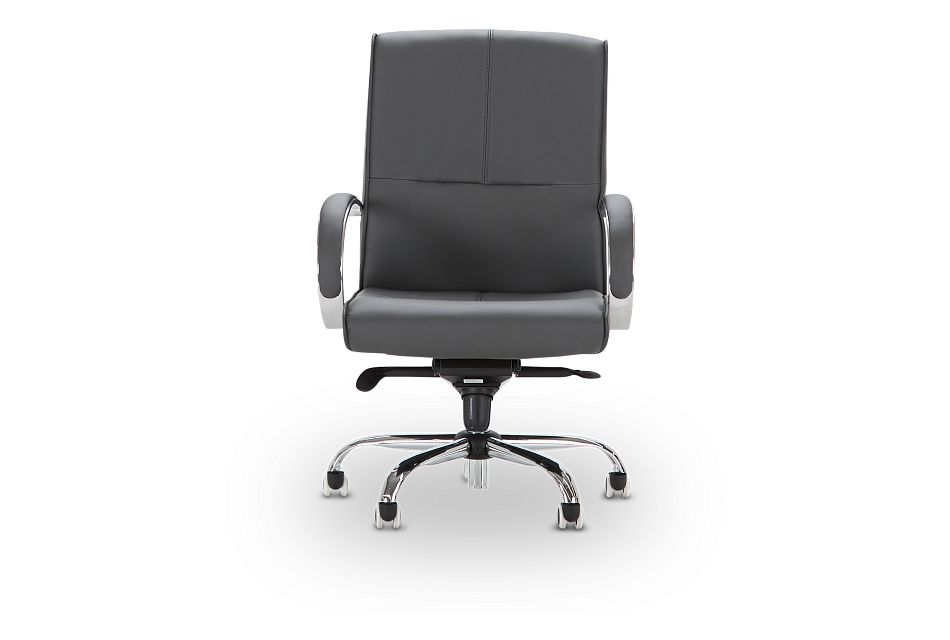Greeley Gray Uph Desk Chair, %%bed_Size%% (3)