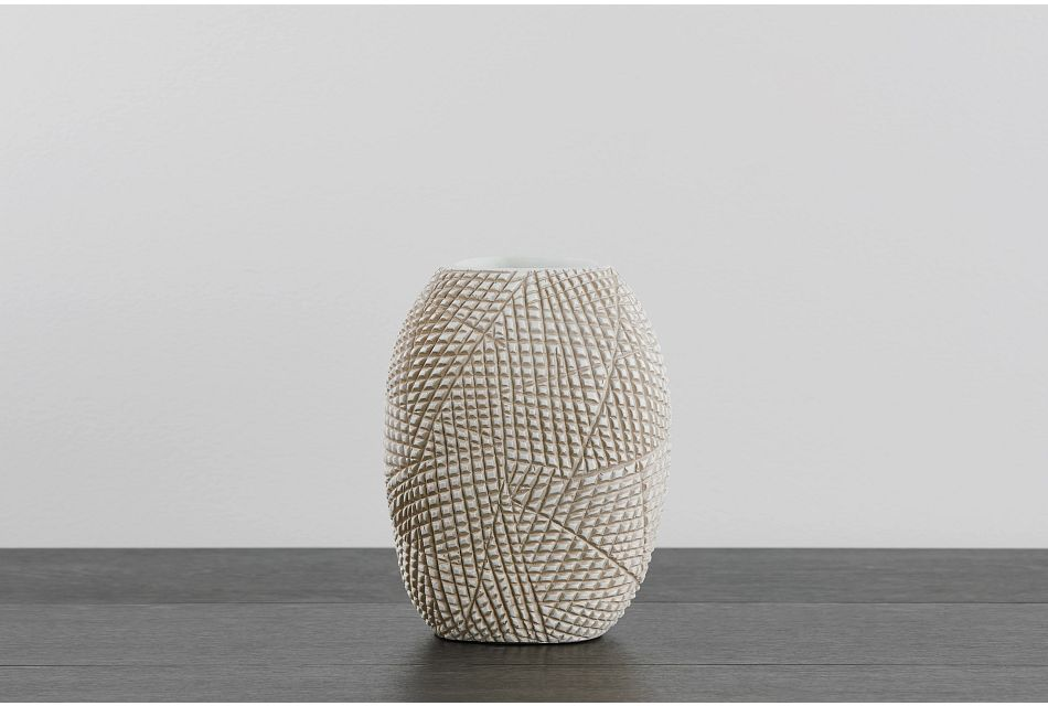 Summer Light Beige Vase
