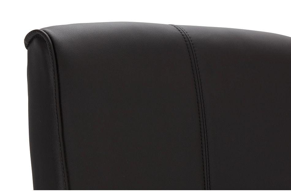 Greeley Black Uph Desk Chair