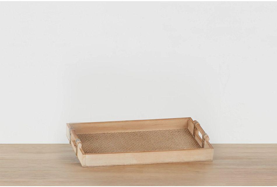 Rowe Rattan Small Tray