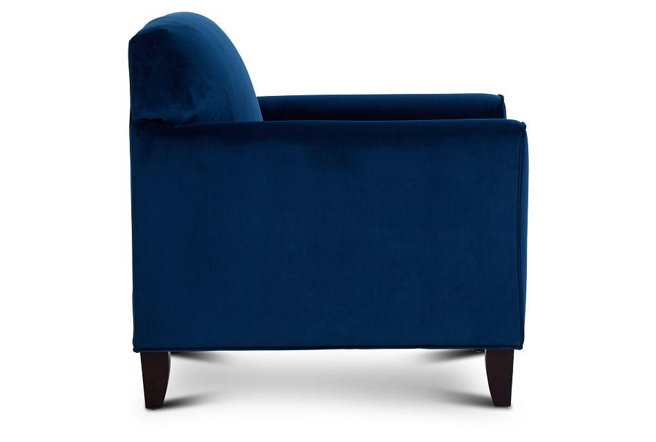 Royale Blue Accent Chair,  (2)