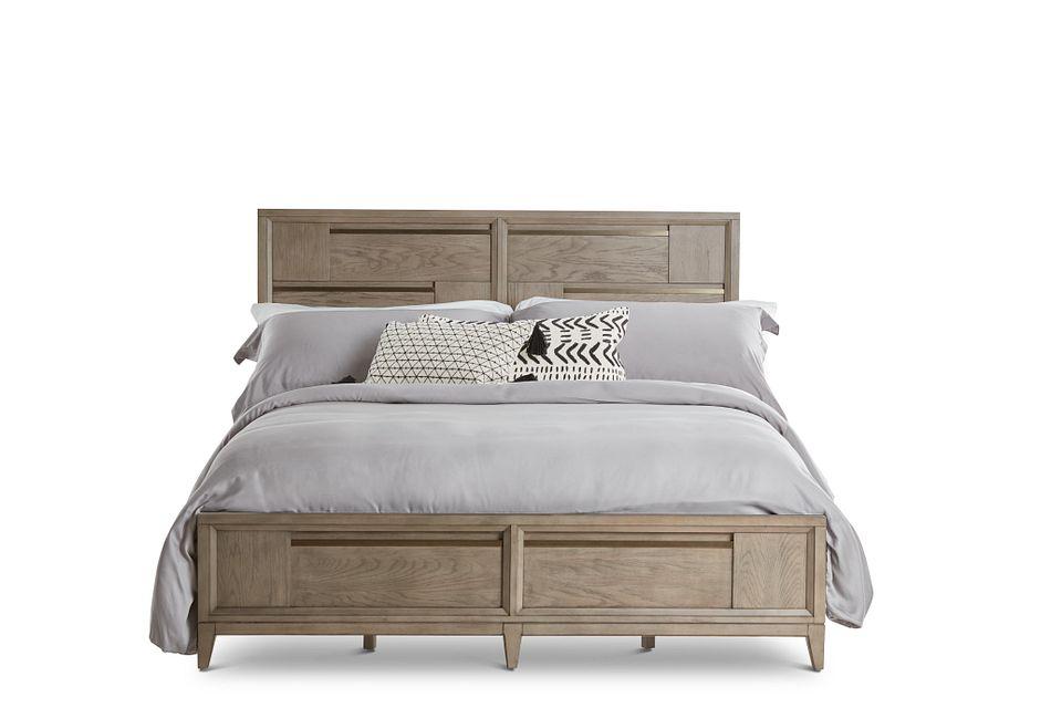 Sedona Gray Panel Bed