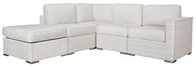 Biscayne White 5-piece Modular Sectional (0)