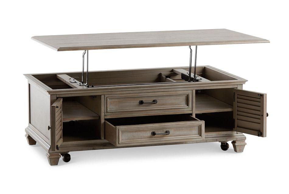 Sonoma Light Tone Lift Coffee Table