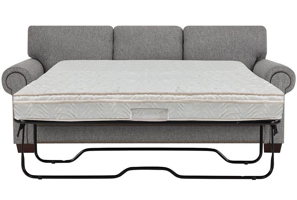 Foster Gray Fabric Innerspring Sleeper