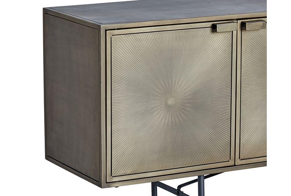 Sunbrust Brown Sideboard