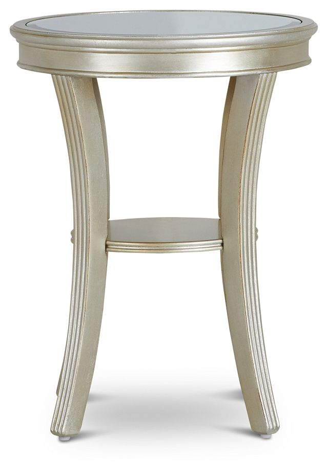 Zadie Silver Accent Table (0)