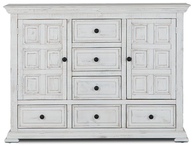 Davenport White Dresser (1)