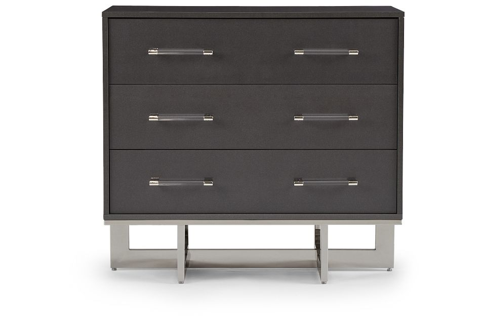 Cortina Gray Small Drawer Chest, One/size (1)