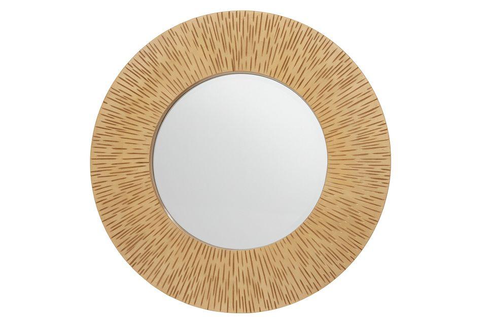 Neema Gold Mirror