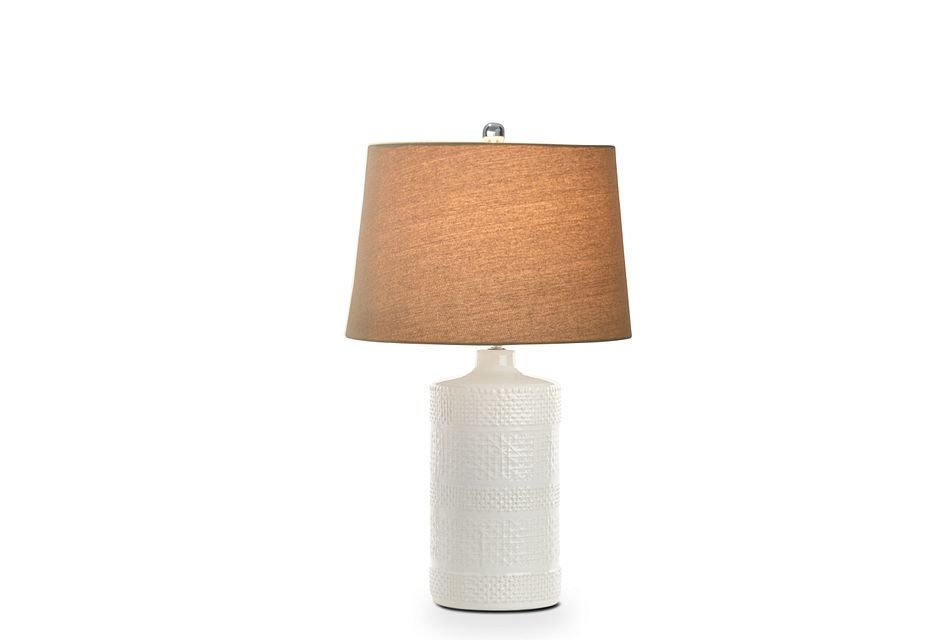 Cailyn White Table Lamp