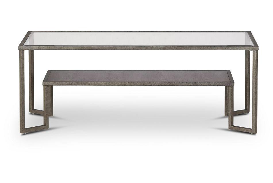 Bendishaw Metal Rectangular Coffee Table