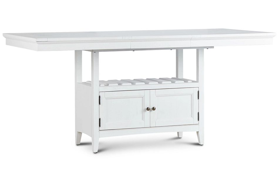 Heron Cove White High Dining Table