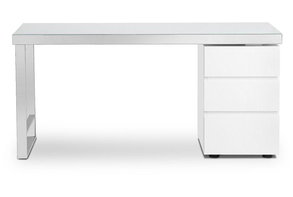Miami White Desk