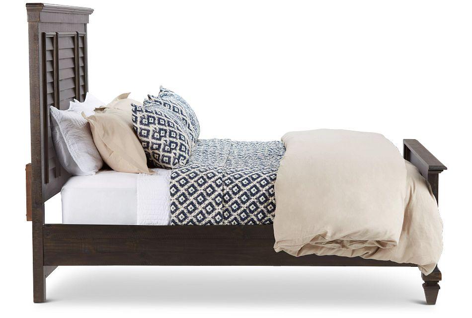 Sonoma Dark Tone Panel Bed
