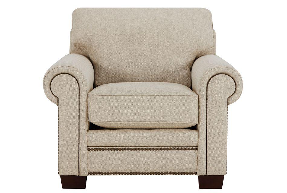Foster Khaki Fabric Chair