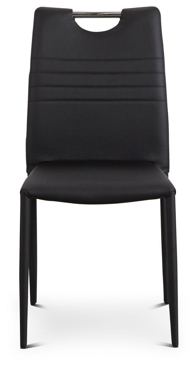 Skyline Black Upholstered Side Chair (3)