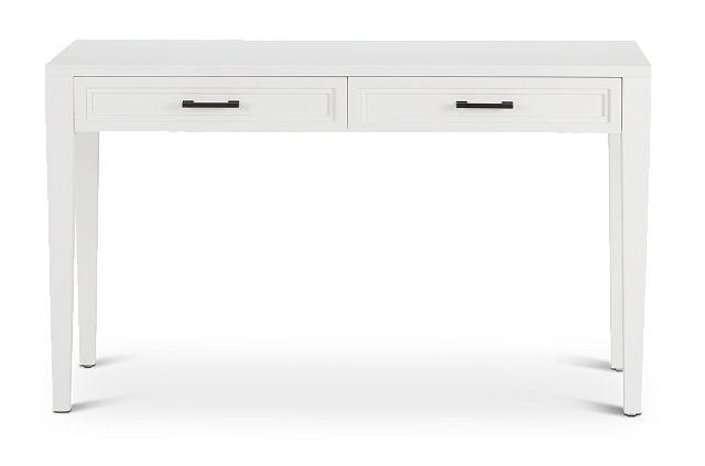 Nantucket White Writing Desk (1)