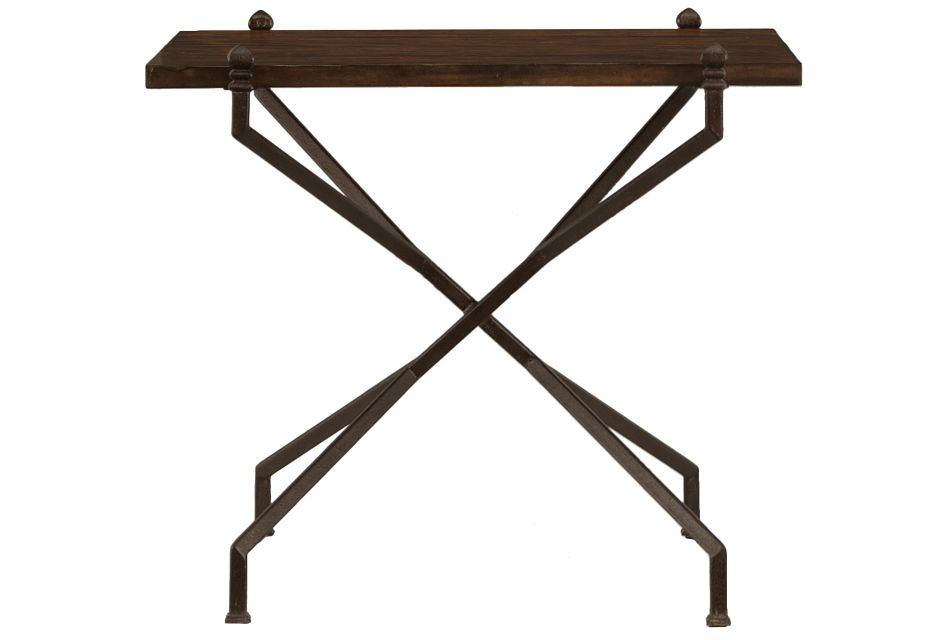 Vestige Dark Tone Rectangular End Table