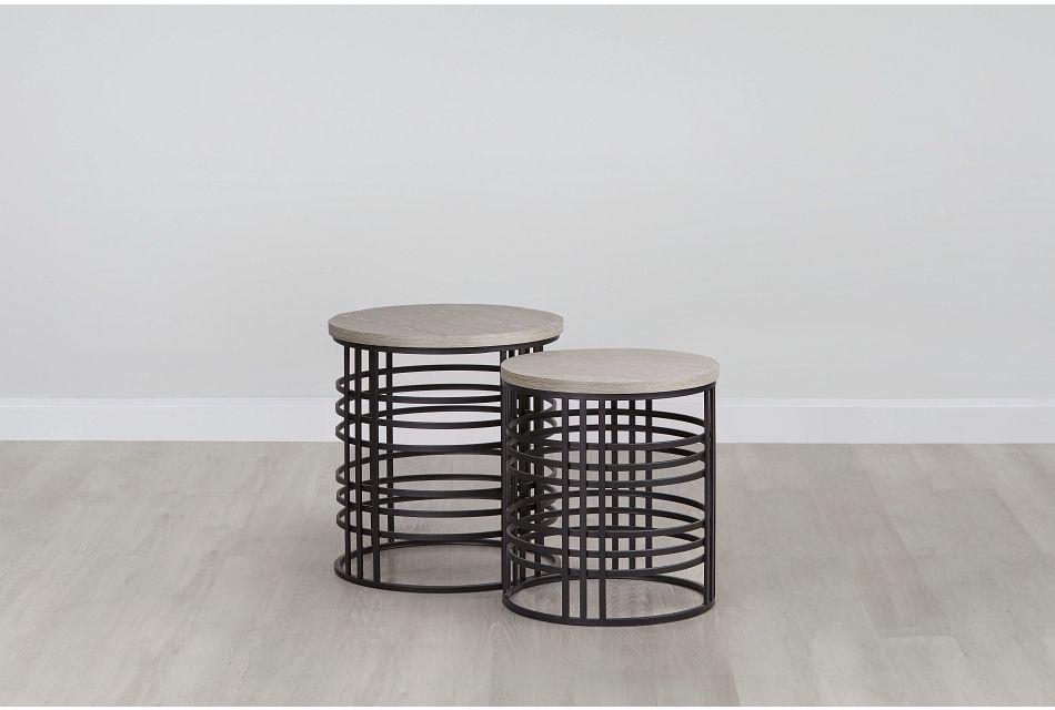 Carlin Metal Nesting Tables