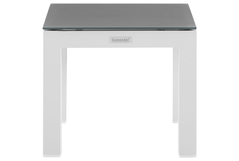 Lisbon Gray End Table