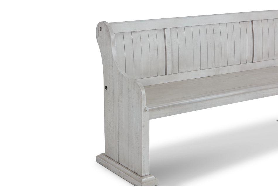 Sonoma Ivory Dining Bench