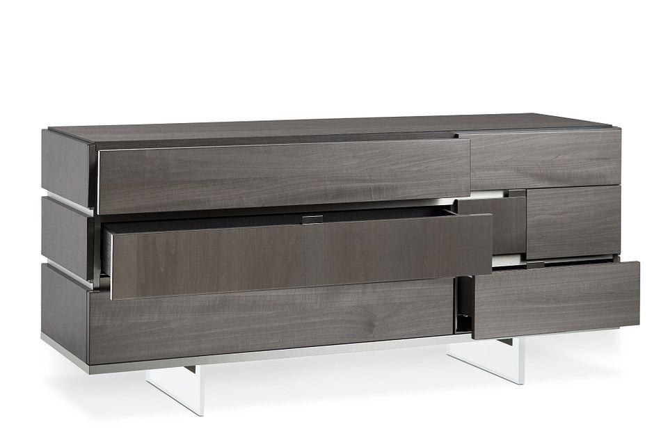 Athena Dark Gray Dresser