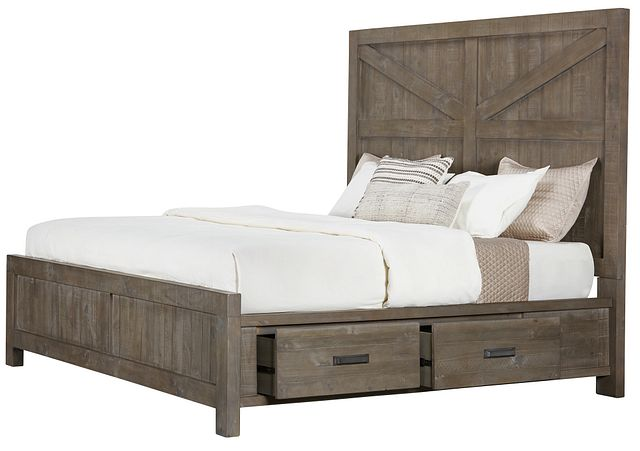 Taryn Gray Right Panel Storage Bed (0)