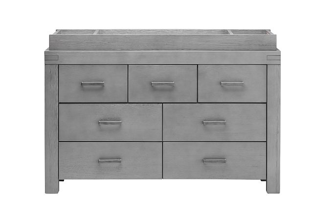 Piermont Gray Dresser With Changing Top (2)