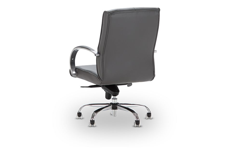 Greeley Gray Uph Desk Chair