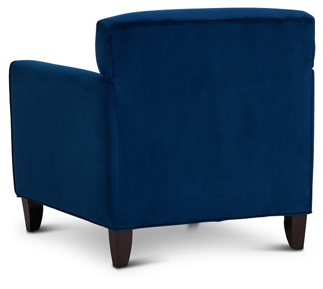 Royale Blue Fabric Accent Chair
