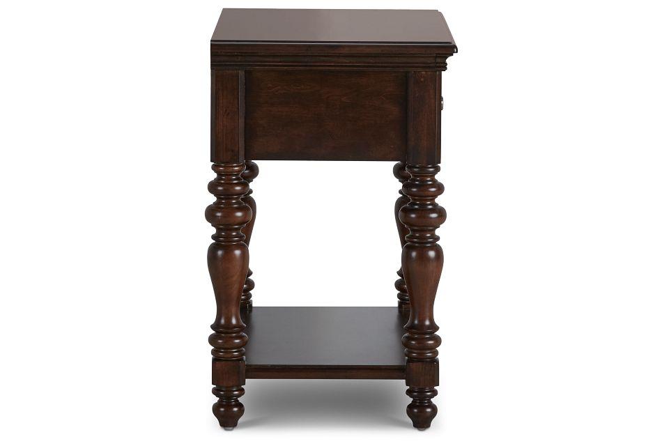 Savannah Dark Tone 1-drawer Nightstand
