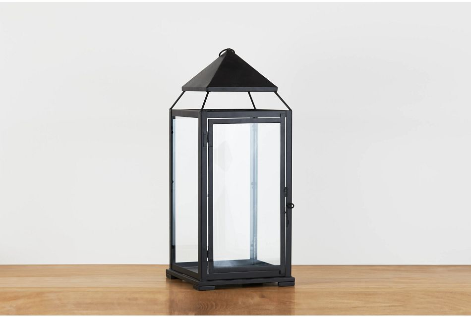 El Paso Black X-large Lantern