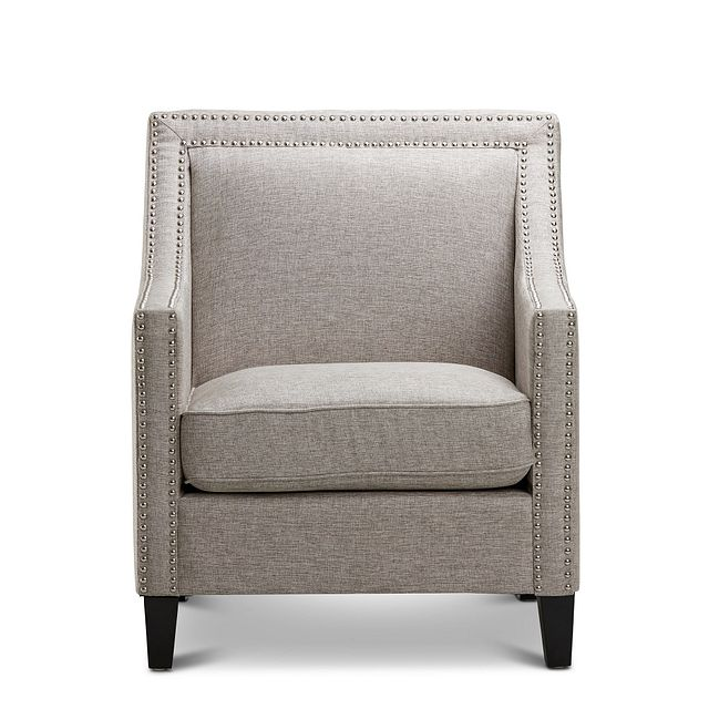 Erica Gray Fabric Accent Chair (3)