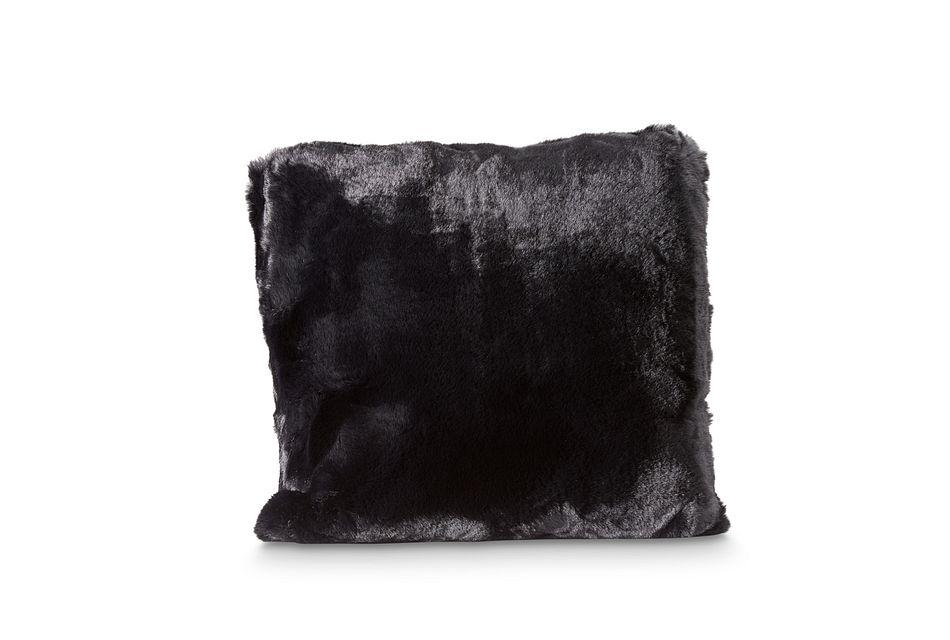 "Kaycee Black 18"" Accent Pillow"