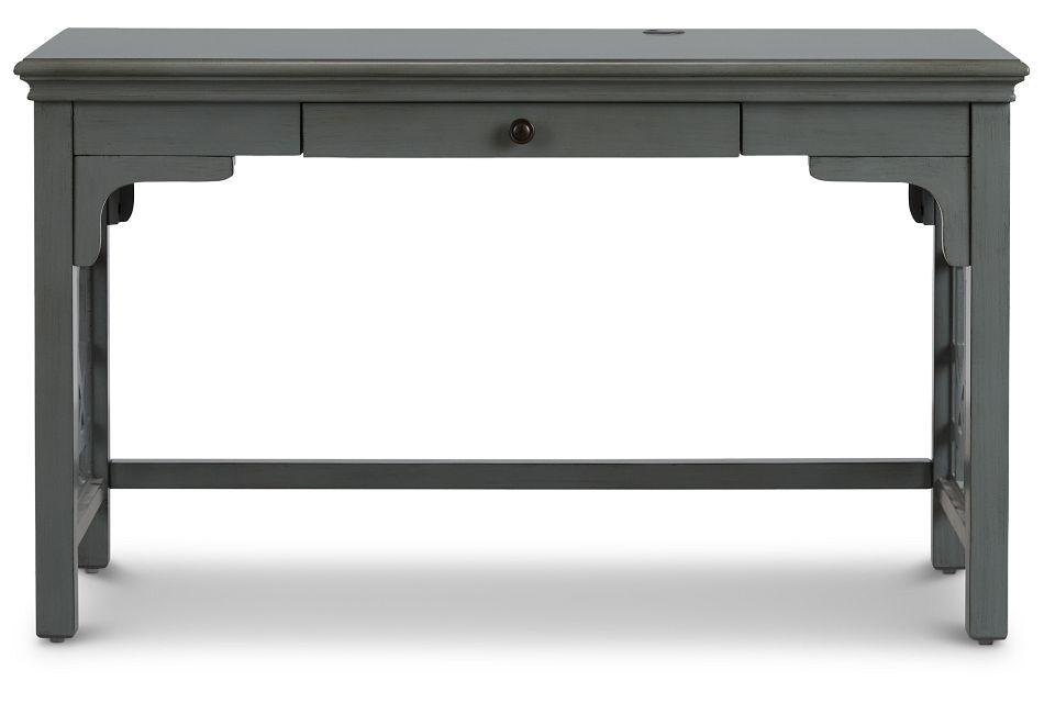 Joplin Gray 1-drawer Desk