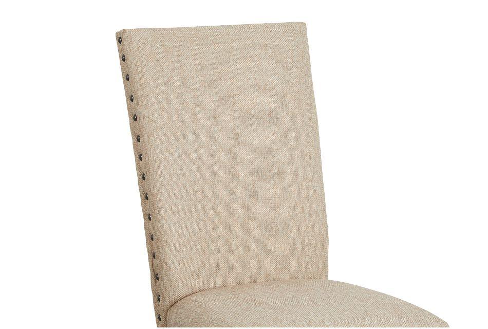 Jax Beige Upholstered Side Chair