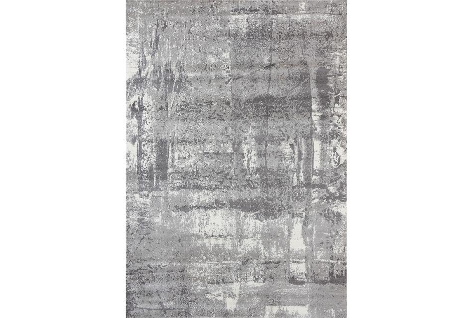 Infinity Gray 8x10 Area Rug