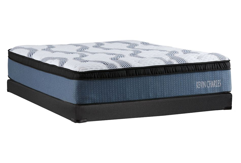 Kevin Charles Sebastian PLUSH  Pillow Top Low-Profile Mattress Set